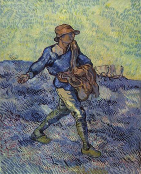 Van Gogh The Sower colour