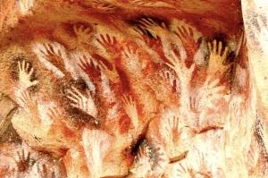 cavepainting - for night walk poem