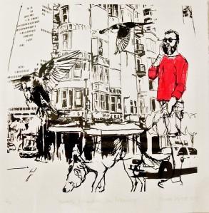 'Towards Columbus, San Francisco' by Sarah Targett
