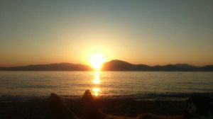 Sunset & feet Evia