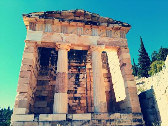 Apollos Temple Delfi Oct 17